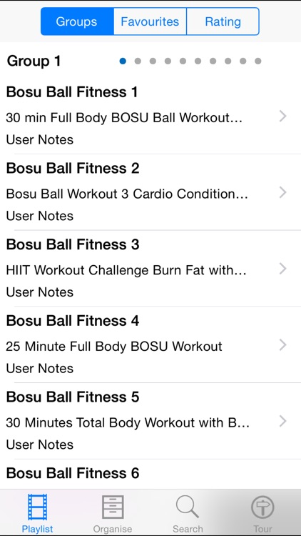 Bosu Ball Fitness screenshot-1