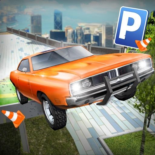 Roof Jumping 3 Stunt Driver Parking Simulator АвтомобильГонки ИгрыБесплатно
