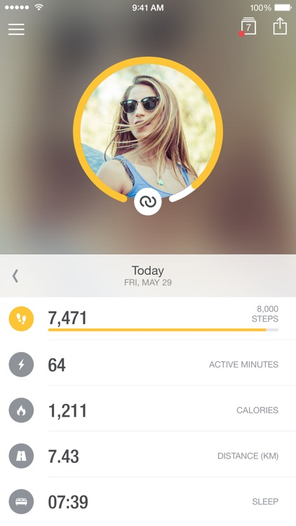 Runtastic Me - Step Tracker & Counter