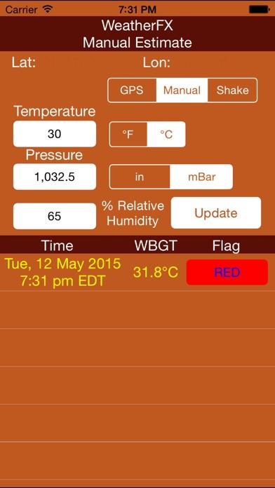Weatherfx review screenshots