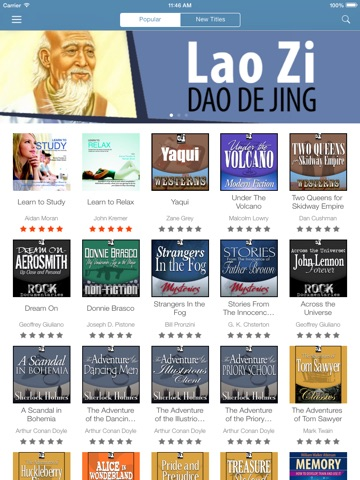 Audiobooks from VoxClub: download and listen the best audio books Скриншоты7