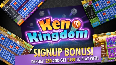 Keno Kingdom Cash Lounge - Britain's Most Popular Real Money Gambling And Casino screenshot one