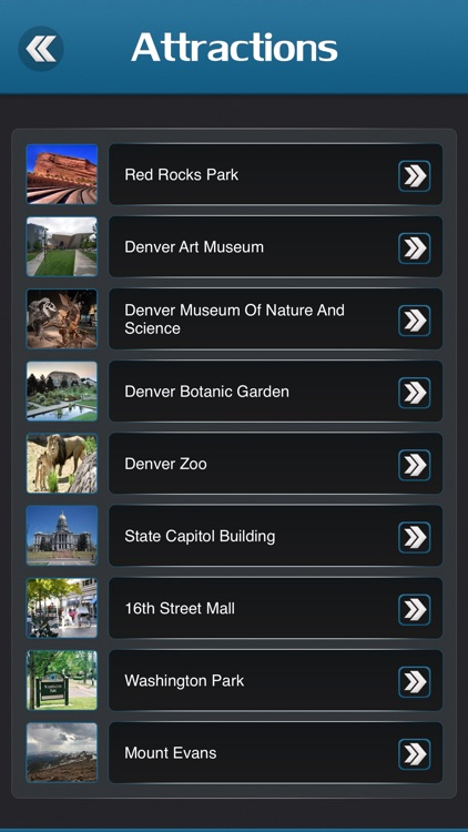 Denver City Offline Travel Guide screenshot-2