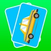 3D Memo Match Car Card - Train your kids brain