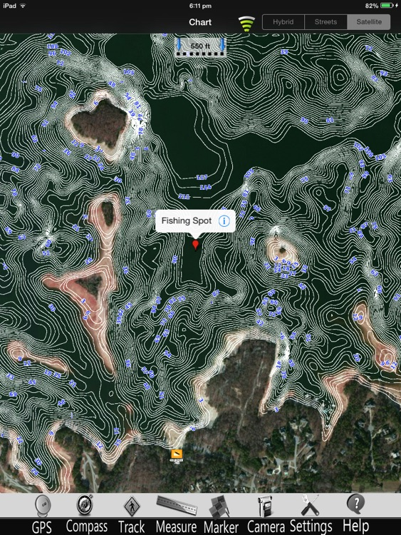 Lake Sidney Lanier Charts Pro screenshot-2