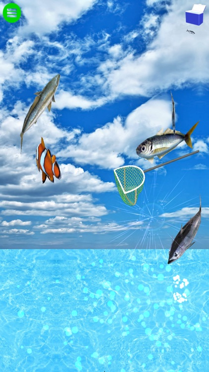 Touching and Jumping! Fun fishing