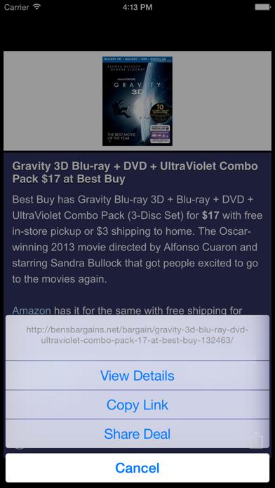 Best Bargains screenshot two