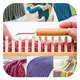 Bed Runners for Knitting Looms - Step by Step