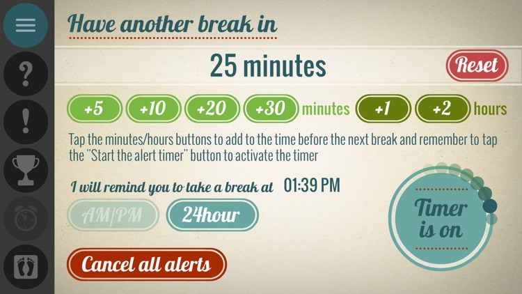 Get Up - Work Break Timer