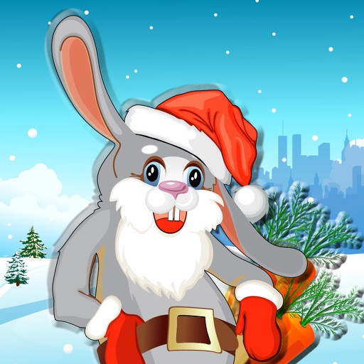 A Fast Rabbit : Hunter Of Carrots For Christmas