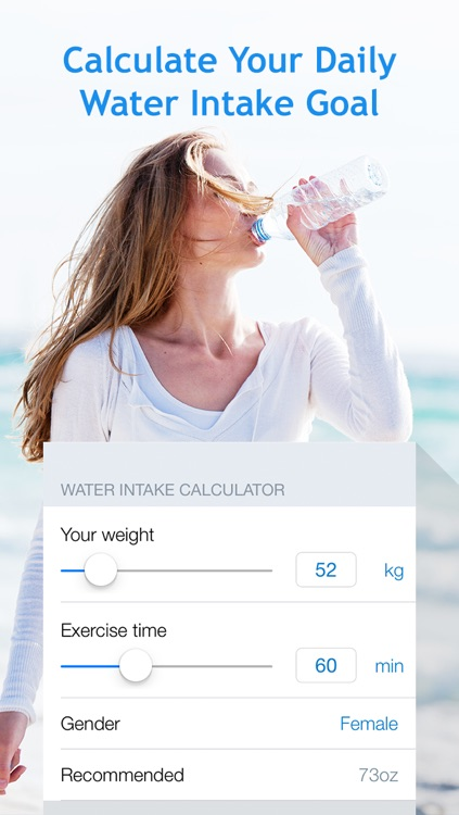 Water Balance: hydration and drinking tracker with goals and reminders screenshot-4