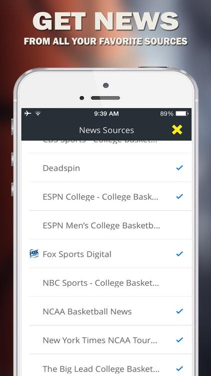 March Madness News - 2015 NCAA College Basketball Tournament screenshot-3