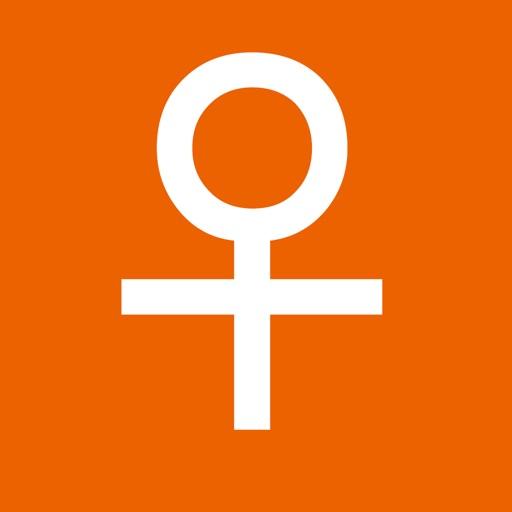 Easy Period Tracker - Menstruation - Ovulation - Fertile - Women - Calendar