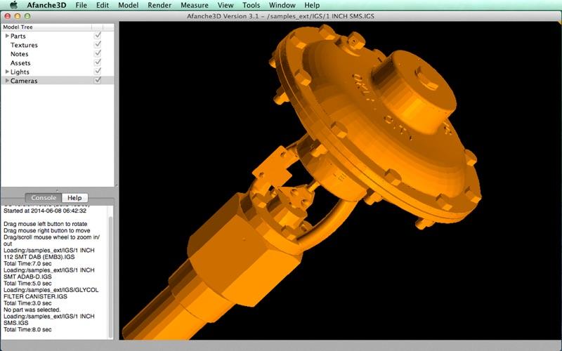 Afanche3D Pro скриншот программы 3