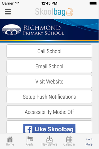 Richmond Primary School - Skoolbag screenshot 4