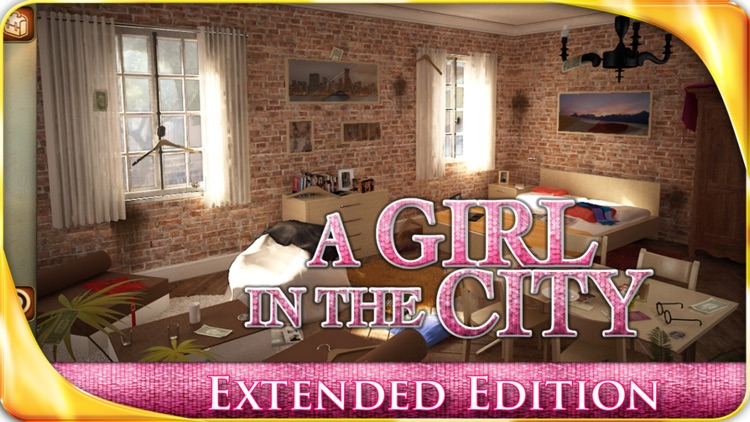 A Girl in the City – Extended Edition - A Hidden Object Adventure screenshot-0
