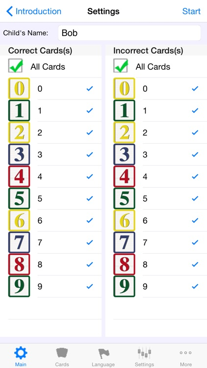 Autism/DTT Numbers by drBrownsApps.com - Includes Counting