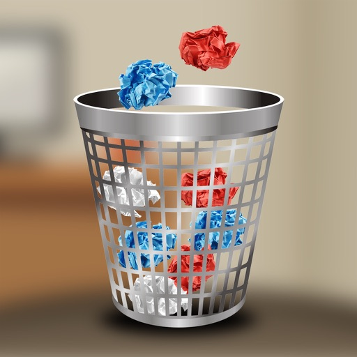 100 Paper Balls - 3 Mini Physics Games Catching Balls in Baskets