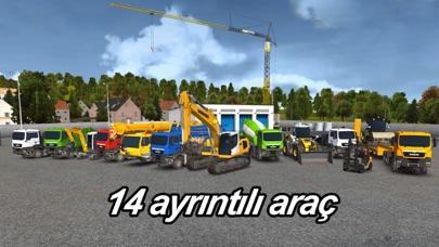 Construction Simulator 2014 iphone ekran görüntüleri