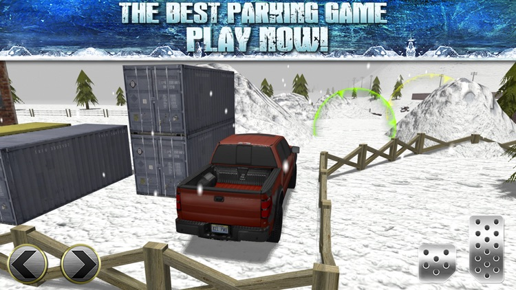 Truck Parking Simulator - Ice Road Truckers Edition screenshot-4