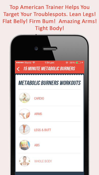 Fitgirl Metabolic Burners : 50, 15 minute weight loss workout for ladiesのおすすめ画像3