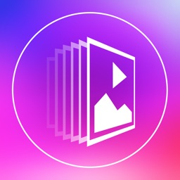 Slideshow Maker Square FREE - Create Beautiful Video Slideshow Mix Your Photos Pictures and Image with Text Caption Musics and Share into Square Size for Instagram.