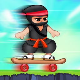 A Jumpy Ninja Hero