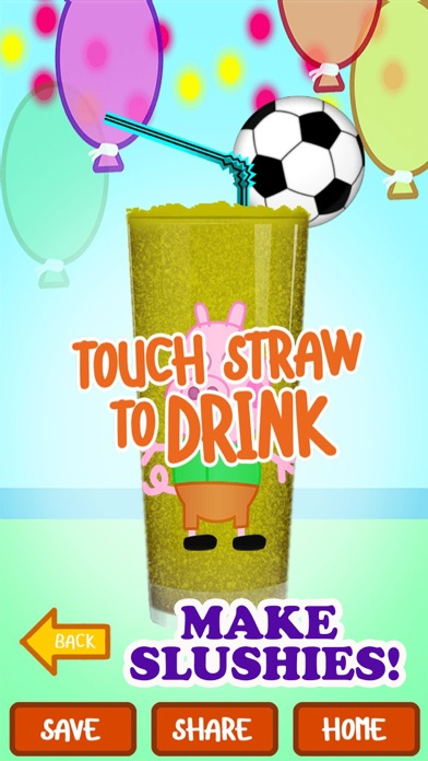 My Happy Little Pig Frozen Slushie Party Time Club Maker Mania Game - Free App Screenshot on iOS
