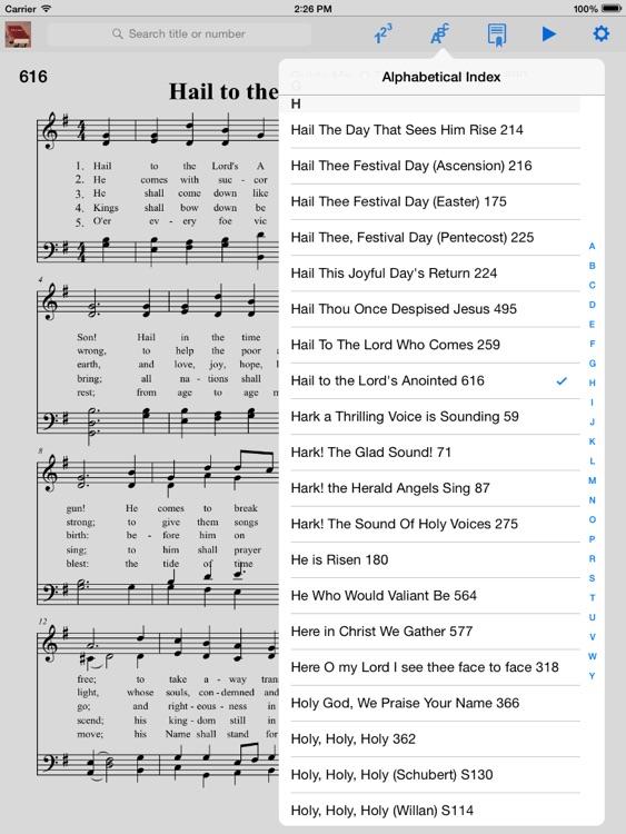Episcopalian Hymnal screenshot-4
