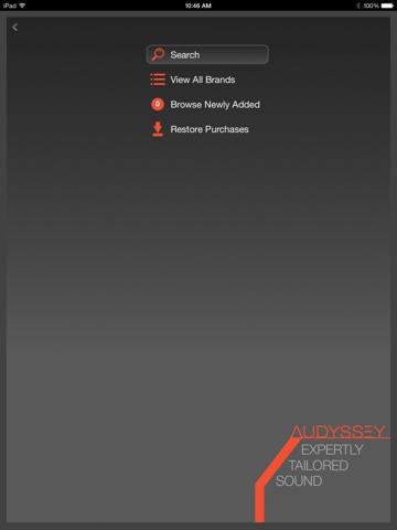 Audyssey Music Player-ipad-2
