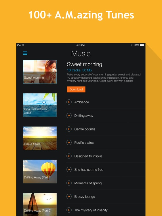 Smart Alarm Clock HD: sleep cycles and night sounds recording screenshot-4