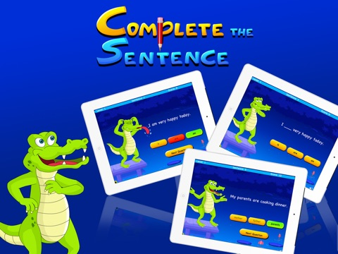 Complete The Sentence For Kids на iPad