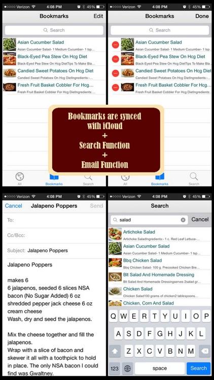230 HCG Diet Recipes screenshot-3
