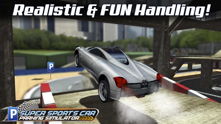 Super Sports Car Parking Simulator - Real Driving Test Sim Racing Games screenshot-3
