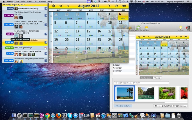 Calendar 2 Screenshot