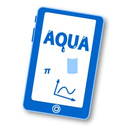 """Math Teaching Materials """"AQUA"""" to Touch and to Move, Menu App"""