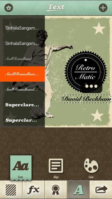 Retromatic 2.0 Screenshot on iOS