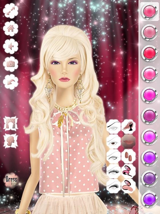 Makeup, Hairstyle & Dressing Up Fashion Princess Free 2