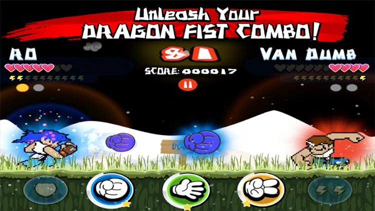 ROSHAMBO FIGHTERS: Rock Paper Scissors RPS Kung Fu Battle Hadouken FREE VERSION