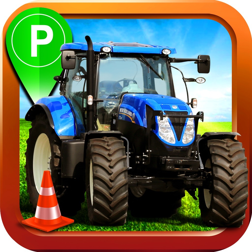 Farming Truck Parking Simulator - 3D Real Farm Car Driving & Park Racing Sim Games