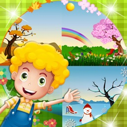 Kids Season Learning-Toddlers Learn Four Seasons with Fun Autumn,Winter,Spring and Summer Activities