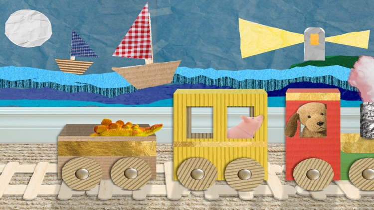 Scribbaloo Train - art and craft train app for toddlers screenshot-4