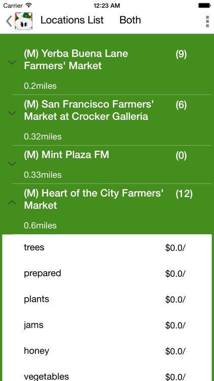CarrotCow; Find and Locate Farmers Markets in the United States and Australia screenshot-3