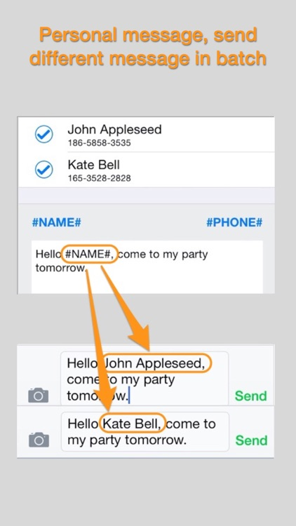 Contacts Plus — With Group Message and Email