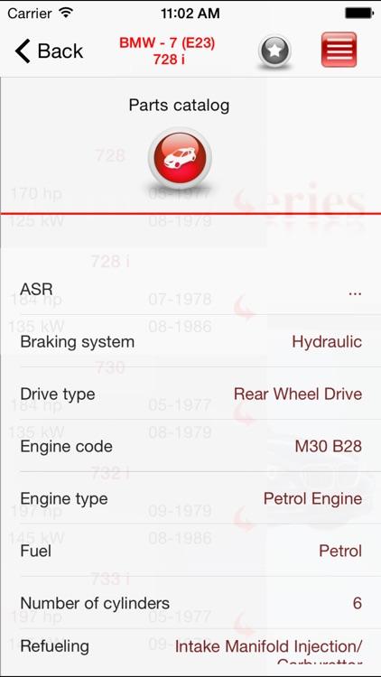 Autoparts BMW 7-series