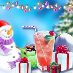 Christmas Special Slushie Maker - awesome smoothie shake making game