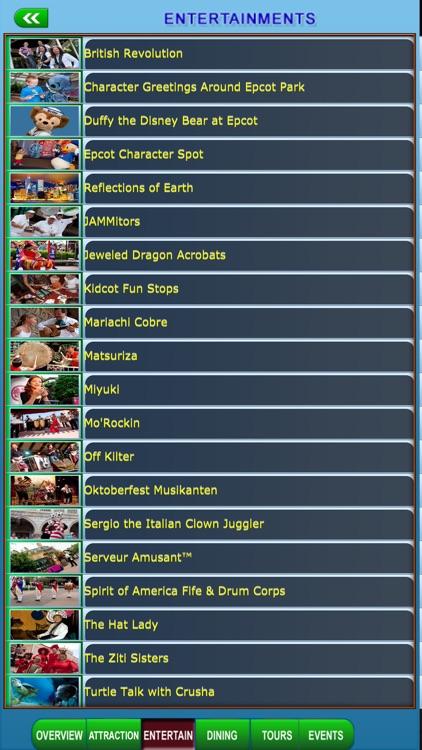Disney World Offline Map Guide screenshot-4