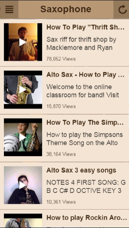 Saxophone Lessons - Learn To Play The Saxophone screenshot-3