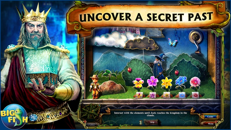 Dark Parables: Jack and the Sky Kingdom - A Hidden Object Fairy Tale screenshot-2