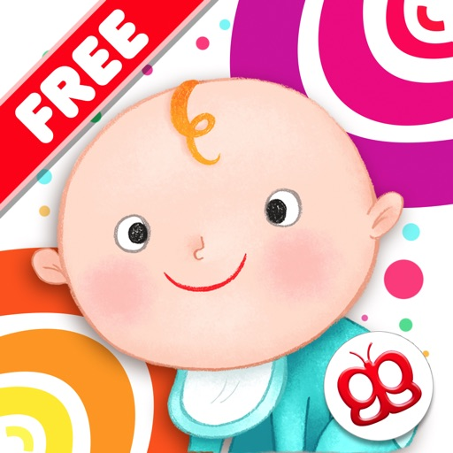 Toddler Sound 123 Free - Flashcards for baby to touch and play